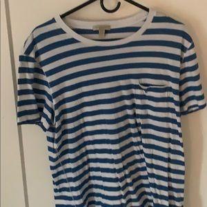 Burberry Striped Blur T Shirt